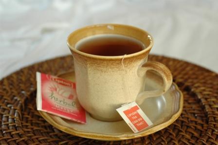 Tea compressed