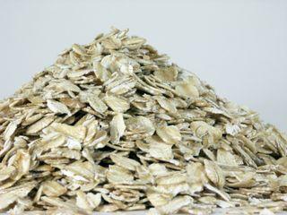 Pile of oatmeal