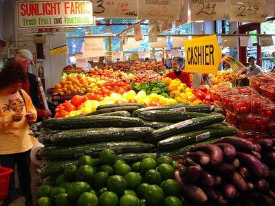 Granville produce market