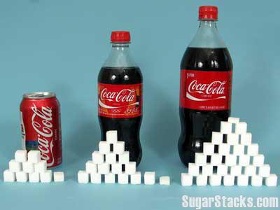 Sugar stacks cokes