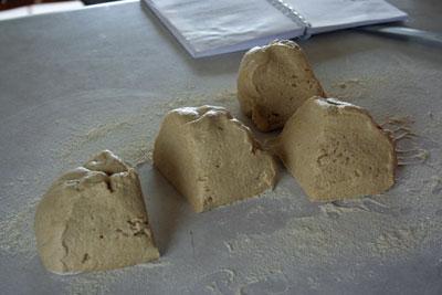 Tortilla-dough-in-chunks