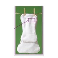 Haute diaper insert
