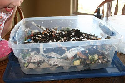 Sideways-worm-compost-bin